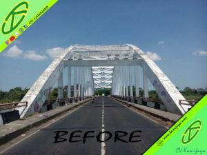 Pengecatan Jembatan Rangka Baja