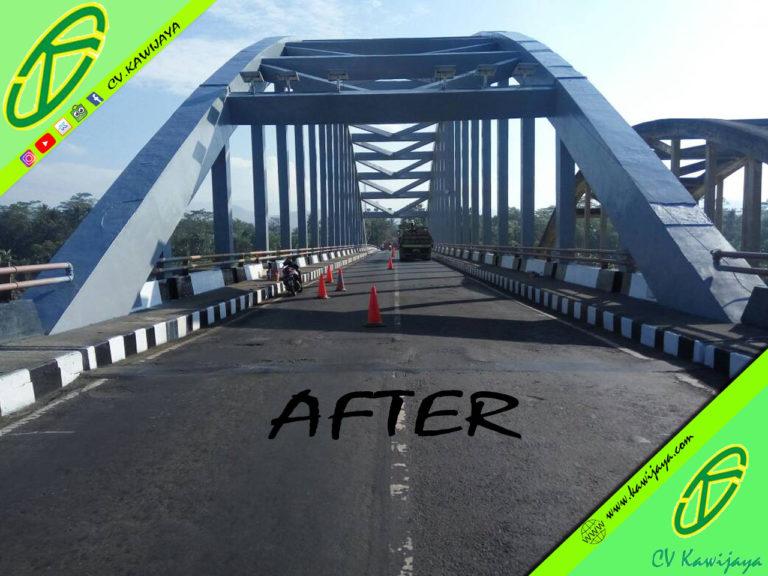 Pekerjaan Pengecatan Jembatan di Jembatan Cindaga - Banyumas