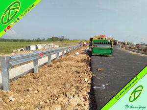 Jasa Pemasangan Pagar Pengaman Jalan di  Papua Barat 081322699996 Soegito