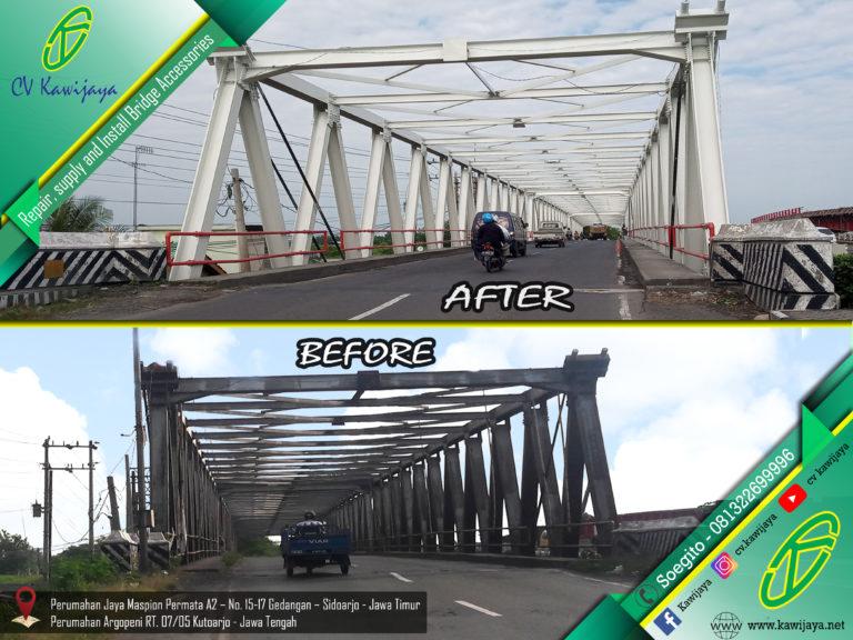 Pengecatan Jembatan Tunggalangin – Kudus