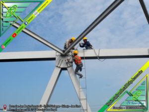 Pengencangan Baut Jembatan Sumatra Utara