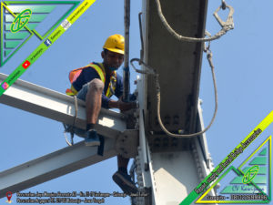 Pengencangan Baut Jembatan Cilet - Indramayu