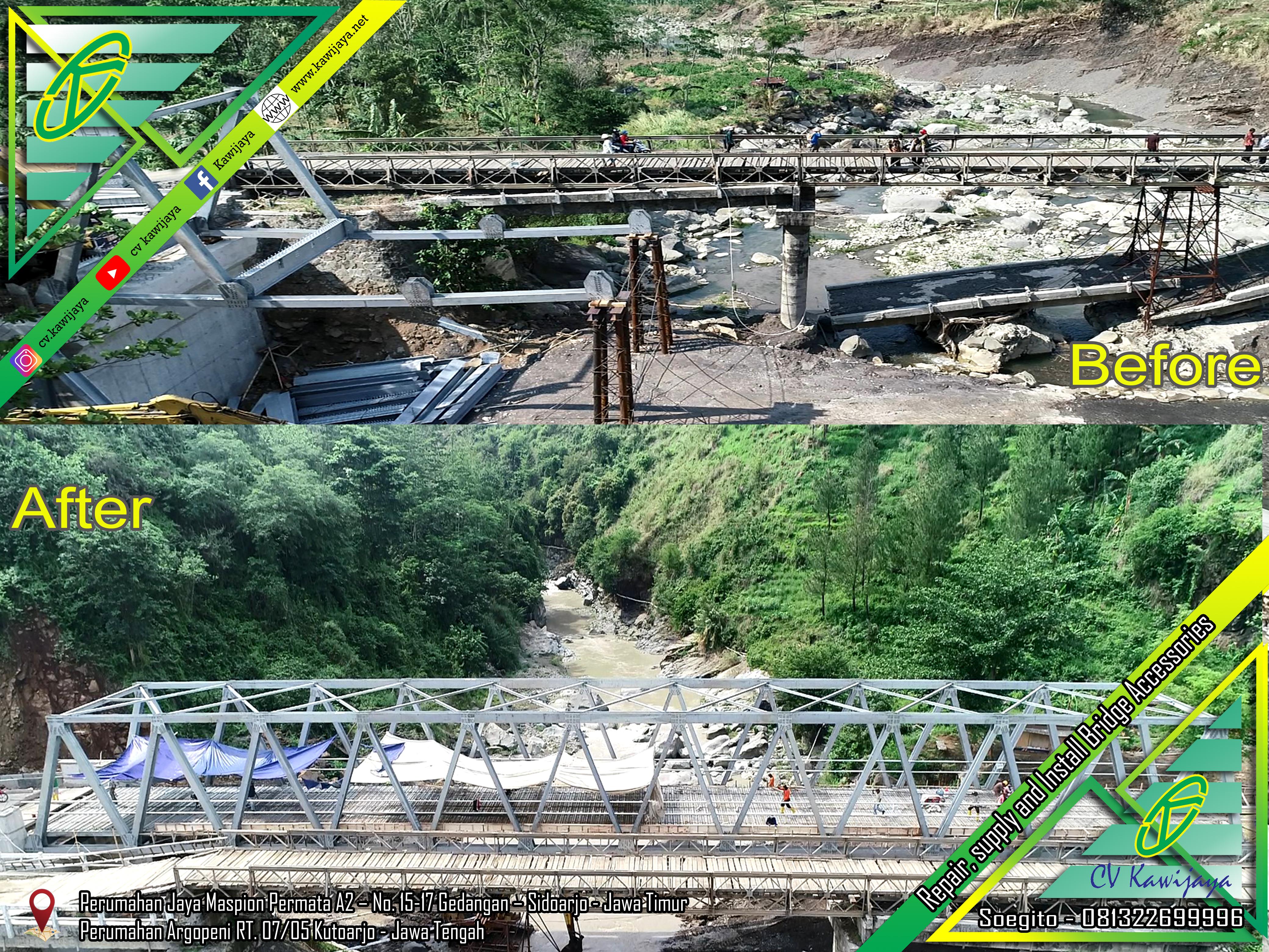 Erection Jembatan Rangka Pemalang (B-60)
