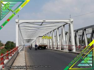 Pengecatan Jembatan Comal - Pemalang
