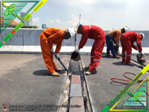 Expansion Joint Aspaltic Tol KLBM (STA-28)