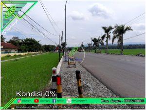 Pemasangan Guardrail Ruas Sentolo - Milir (kulon progo)