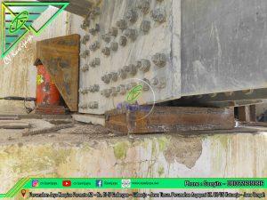 Jacking Up Jembatan Rangka - Kalimantan Selatan