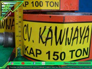 Rental Dongkrak Kapasitas 150 Ton