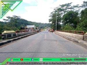 Expansion Joint Aspaltic Jembatan Kedung - Lingkar ambarawa