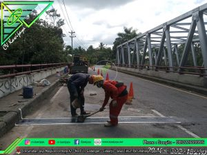 Expansion Joint Aspaltic Jembatan Kali Jetis - Salatiga